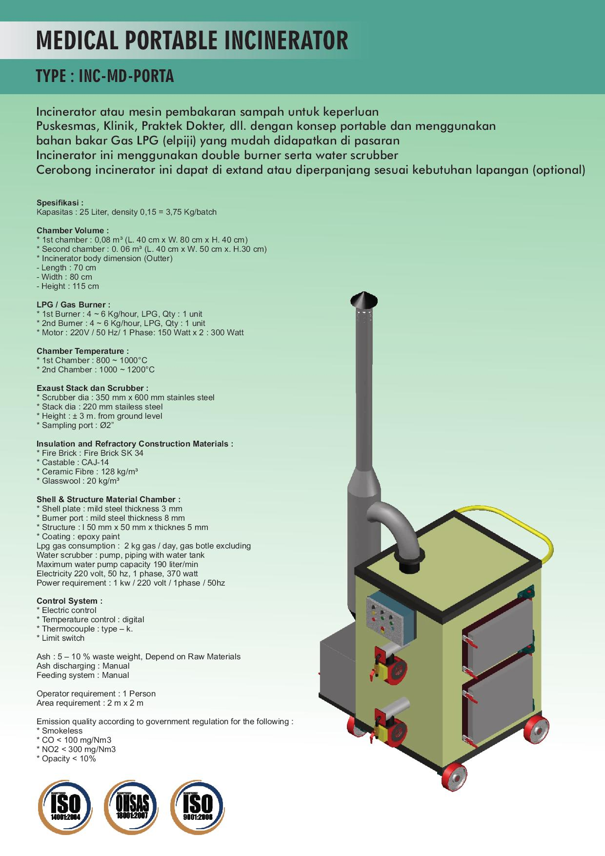 MEDICAL PORTABLE INCINERATOR-page-001